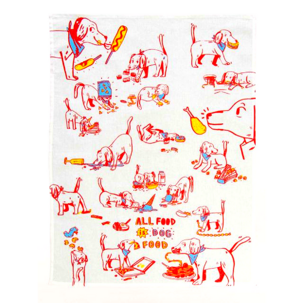 Dish Towel | All Food Is Dog Food