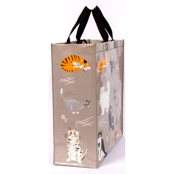 Blue Q Shopper Bag | People I Love: Cats | Peticular