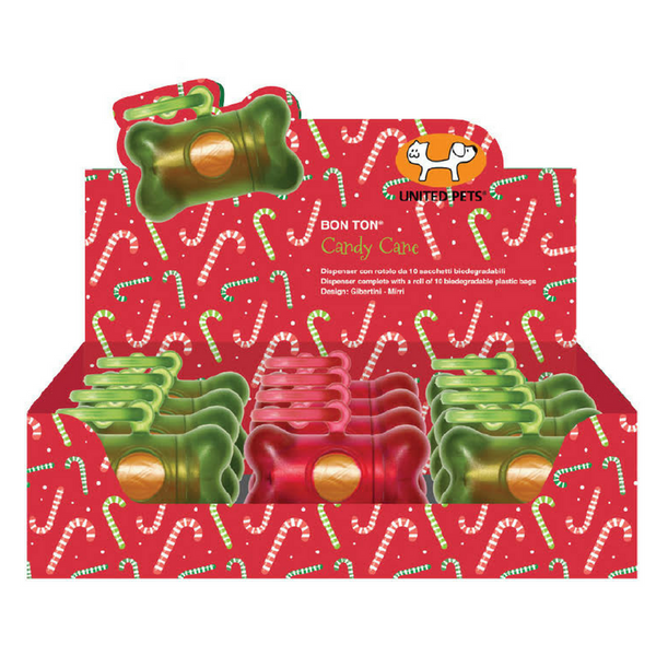 United Pets Bon Ton Classic | Candy Cane | Peticular