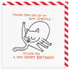 Vevoke Birthday Card | Busy Schedule | Peticular