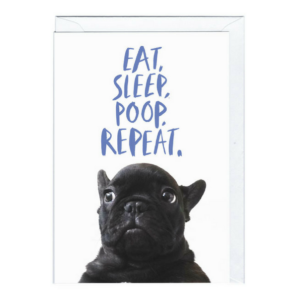 Blank Card | Poop Repeat