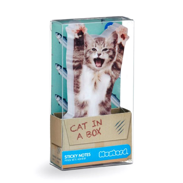 Outliving Sticky Notes | Cat In A Box | Peticular