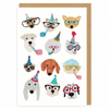 Vevoke Blank Card | Celebratory Dogs | Peticular