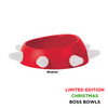 United Pets Boss Bowl | Red & White | Peticular