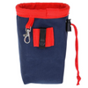 Small Good Dog Treat Pouch | Navy & Red