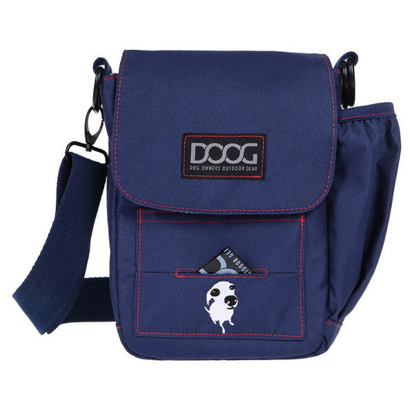 Walkie Bag | Navy & Red