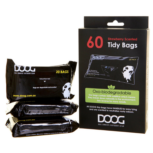 DOOG Pick Up Bags | 3 Pack | Peticular