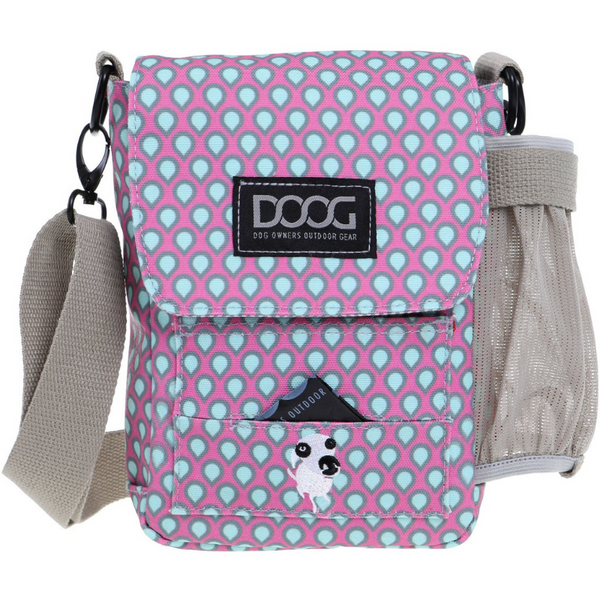 Walkie Bag | Pink & Green Teardrop