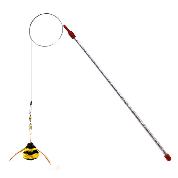 Go Cat Cat Catcher Da Bee Cat Toy | Peticular