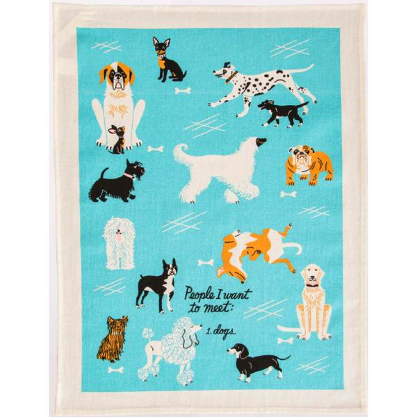 Dish Towel | People To Meet: Dogs
