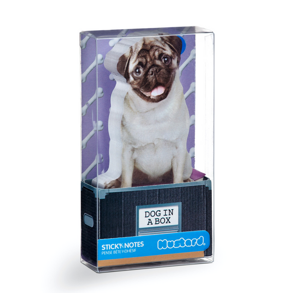 Outliving Sticky Notes | Dog In A Box | Peticular