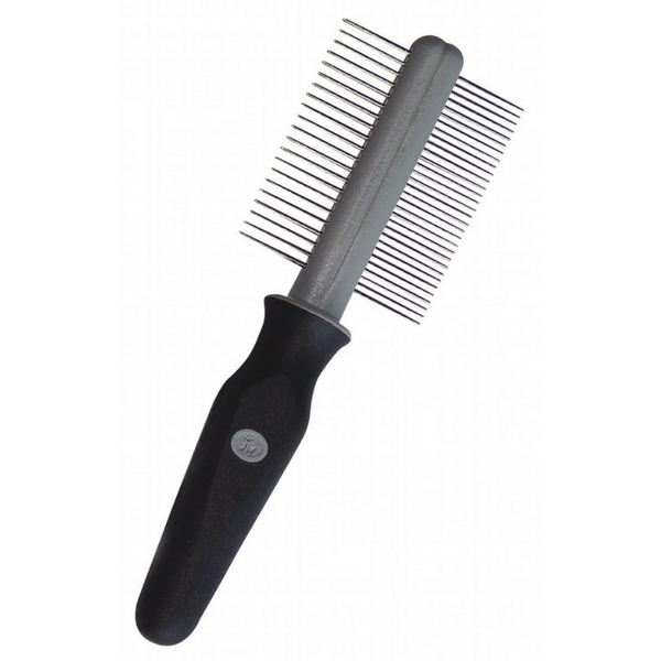 GripSoft Double Sided Pet Comb | Peticular