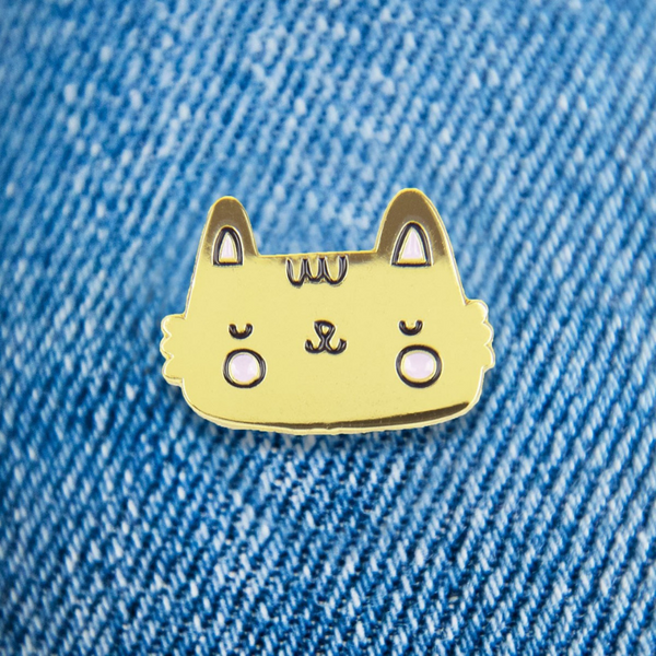 Enamel Pin Card | Purrfect Cat