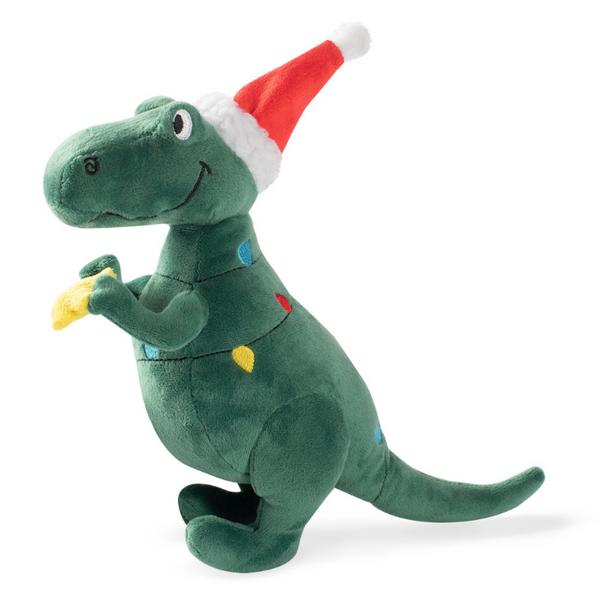 Christmas Tree Rex Dog Toy