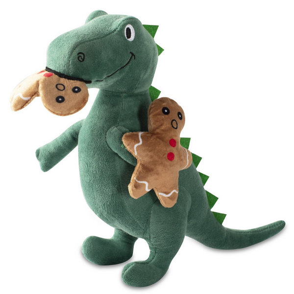 Oh Snap! T-Rex Dog Toy