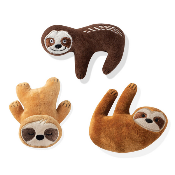 Fringe Studio Sloths Mini Dog Toys | Peticular