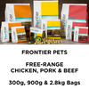 Frontier Pets Freeze-Dried Raw Dog Food | Free Range Pork | Peticular