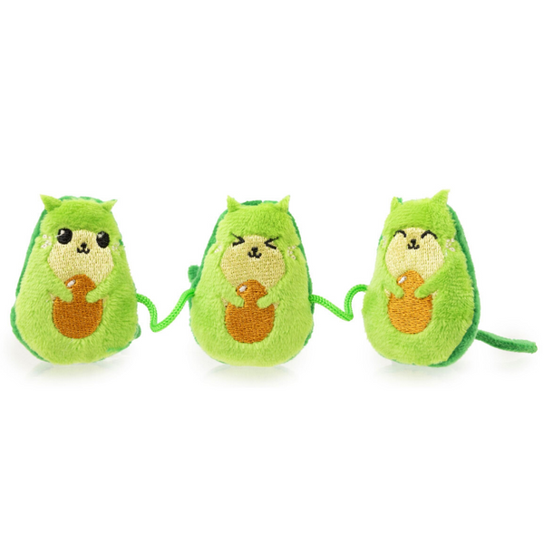 FuzzYard Avocatos Catnip Cat Toy | Peticular