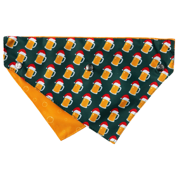 Christmas Dog Bandana | Merry Beermas
