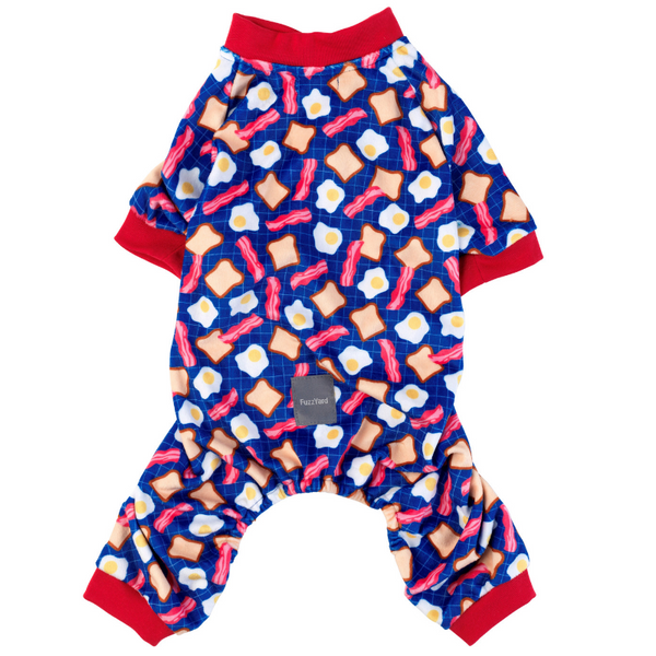 FuzzYard Bacon And Eggs Onesie Pyjamas | Peticular