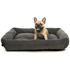 FuzzYard The Lounge Pet Bed | Charcoal | Peticular