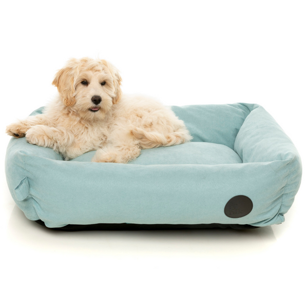 FuzzYard The Lounge Pet Bed | Powder Blue | Peticular