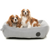 FuzzYard The Lounge Pet Bed | Stone Grey | Peticular