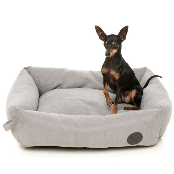 The Lounge Pet Bed | Stone Grey