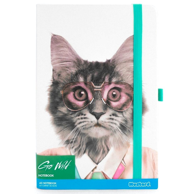 Outliving Go Wild Notebook | Cat | Peticular