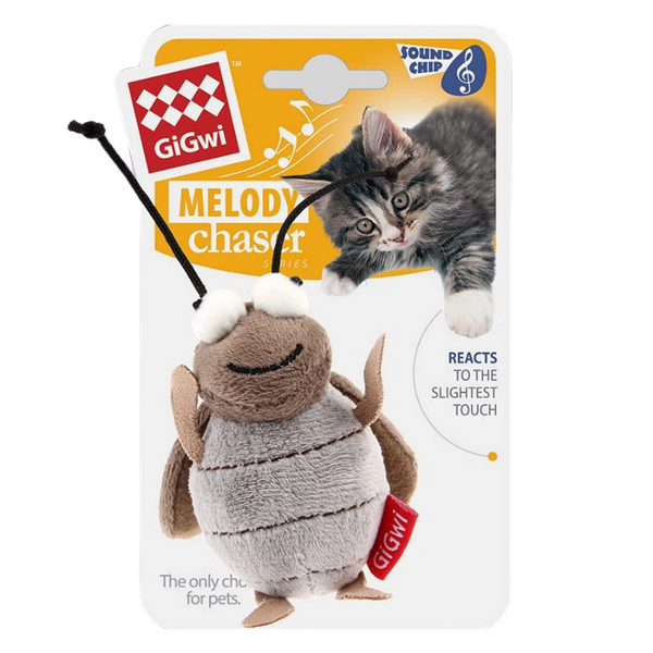 GiGwi Melody Chaser Cat Toy | Cricket | Peticular