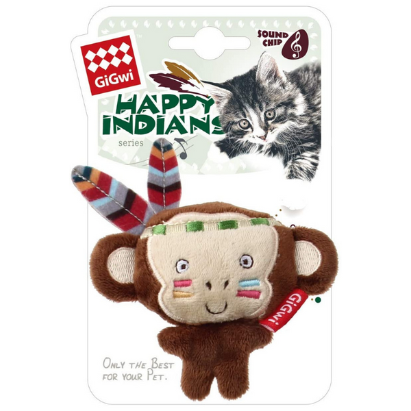 Happy Indians Melody Chaser Cat Toy | Monkey