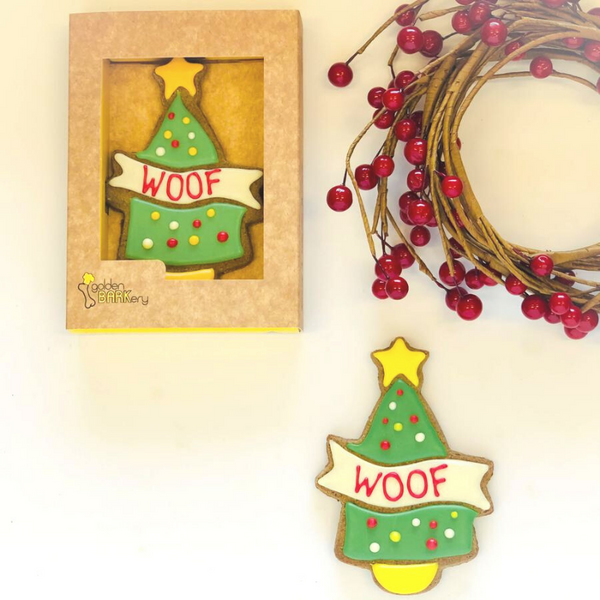 Gourmet Dog Treat | Woof Xmas Tree