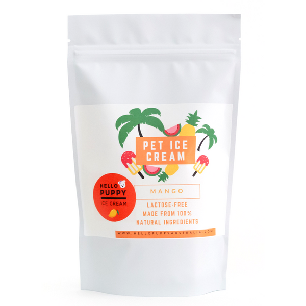 Pet Ice Cream Mix | Mango