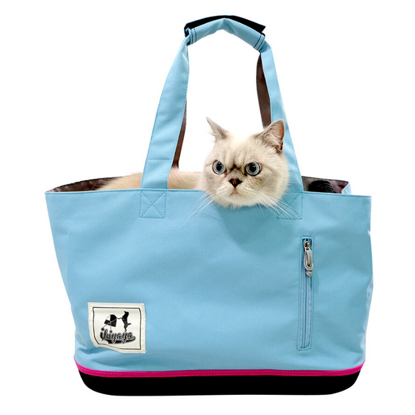 Ibiyaya Colour Play Pet Carrier | Sky Blue | Peticular