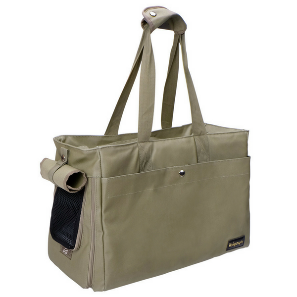Ibiyaya Canvas Pet Tote Bag | Army Green | Peticular