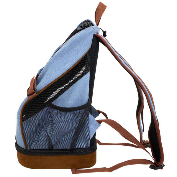 Ibiyaya Lightweight Pet Backpack | Denim | Peticular