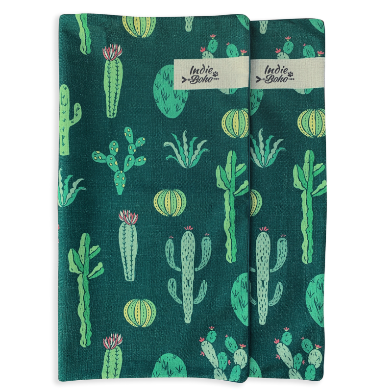 Indie Boho Additional Pet Bed Cover | Cactus Garden | Peticular
