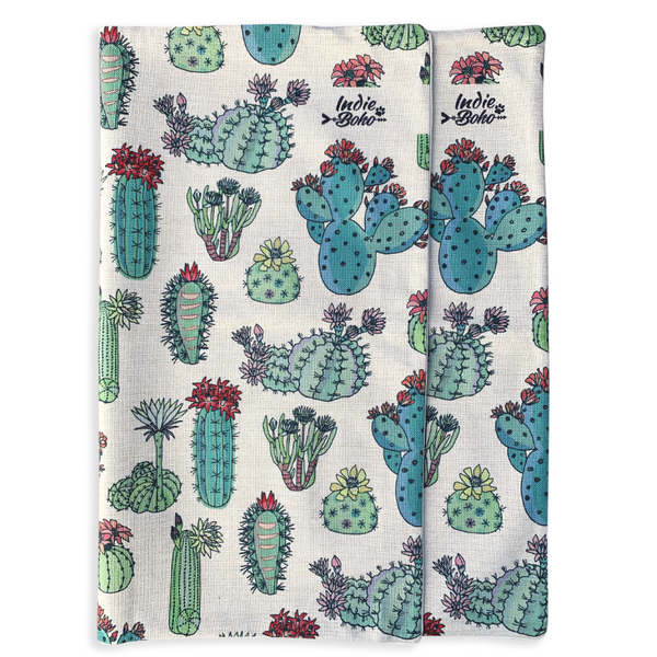 Indie Boho Additional Pet Bed Cover | Desert Cacti | Peticular