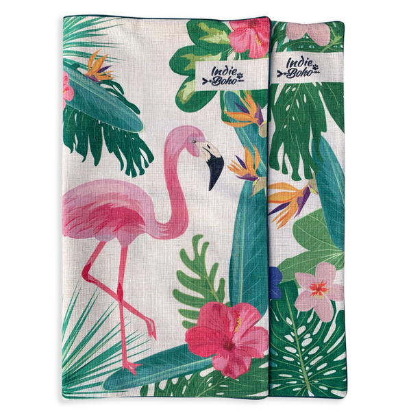 Additional Pet Bed Cover | Flamingo Toucan Paradise