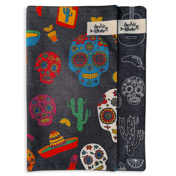 Additional Pet Bed Cover | Mexican Skulls