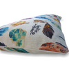 Indie Boho Cushion Bed | Natural Feather Scatter | Peticular