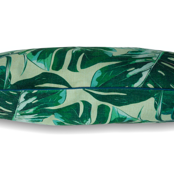 Indie Boho Cushion Pet Bed | Tropical Leaves | Peticular