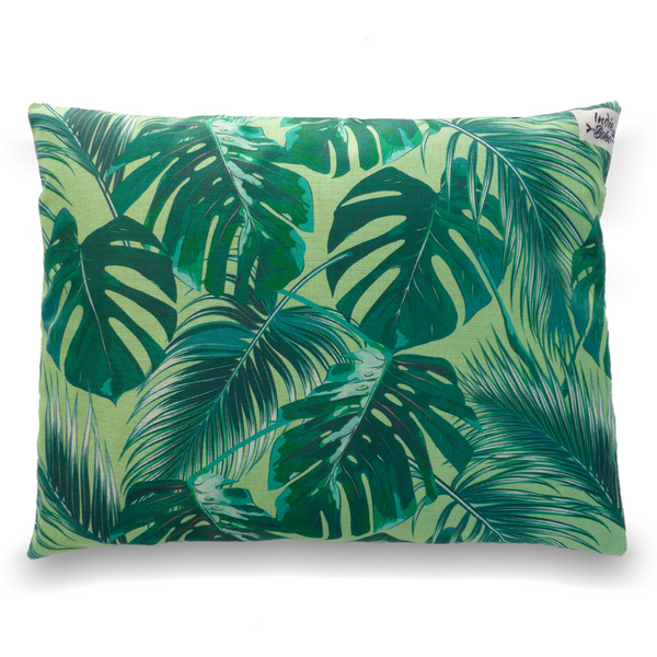 Cushion Bed | Tropical Leaves