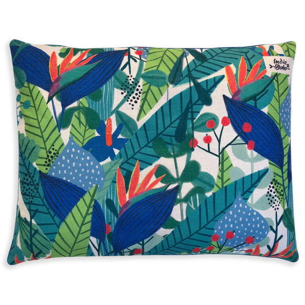 Indie Boho Cushion Pet Bed | Binny's Jungle Song | Peticular
