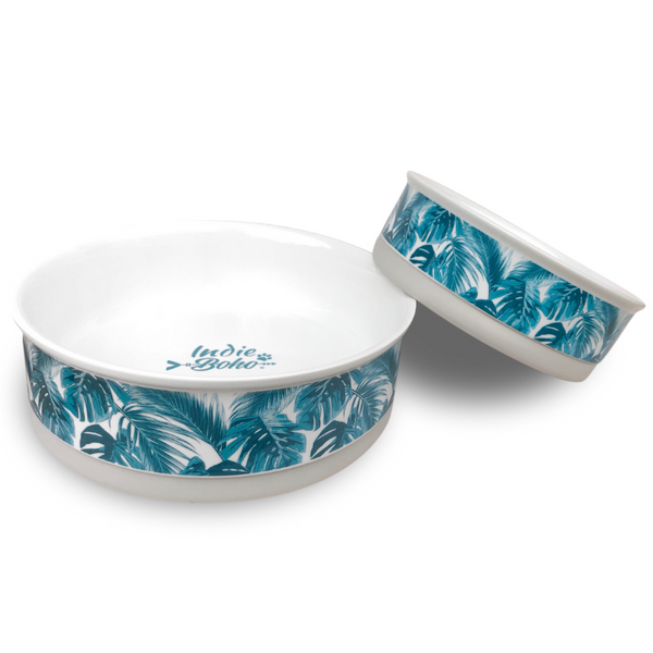 Designer Bowls | Tropical Leaves