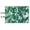 Indie Boho Pet Travel Mat | Tropical Leaves | Peticular
