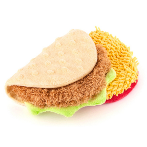 P.L.A.Y International Classic Plush Toy | Taco | Peticular
