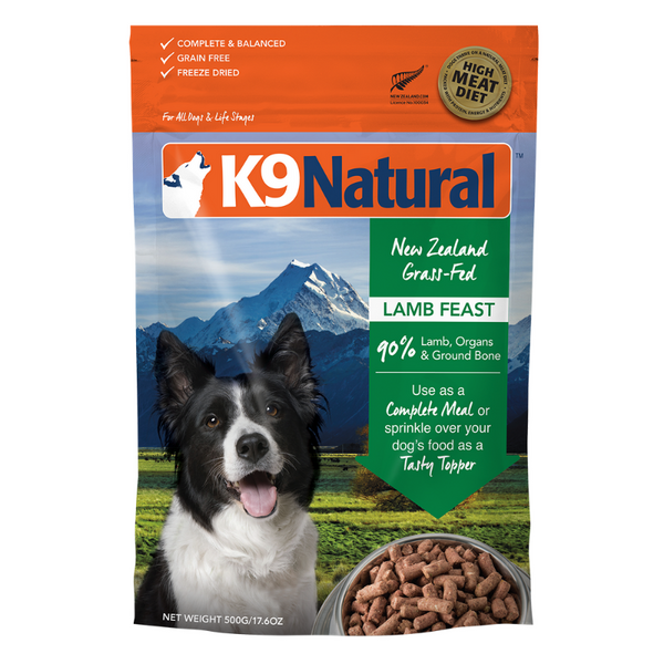Freeze-Dried Dog Food | Lamb Feast