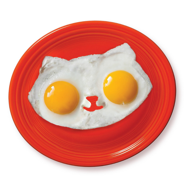 William Valentine Kitty Egg Mold | Peticular