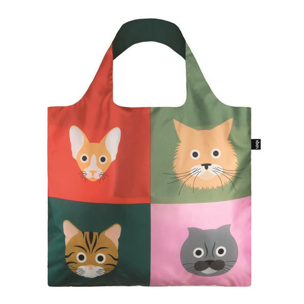 LOQI Shopping Bag | Cats | Peticular
